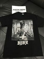 Justin Bieber Purpose tour x Merchandise tour t-shirt pray sz. LARGE