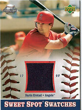 DARIN ERSTAD 2002 SWEET SPOT SWATCHES GAME USED JERSEY ~ ANGELS