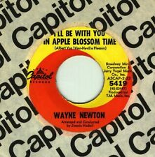 Wayne Newton - I'll be with you in apple blossom time- ORIGINAL - NEW OLD STOCK