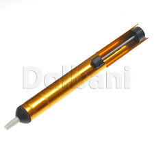 High Quality Gold Desoldering Pump Sucker Solder Iron Removal Tool 190mm Length