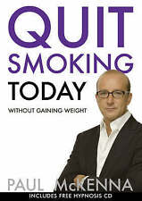 MCKENNA,PAUL-QUIT SMOKING TODAY WITHOUT GAIN BOOK NEW