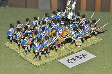 25mm napoleonic prussian infantry 31 figures (6434) metal painted