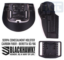 Blackhawk Beretta 92/96 Serpa Holster Carbon Fiber Finish - 410004BK