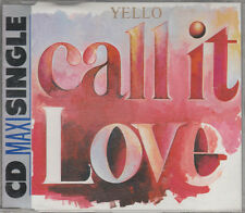 Yello CD-MAXI CALL IT LOVE (c)  1986