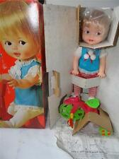 Vintage TOPPER Busy Baby RIDE a BIKE doll New in BOX  - Actually Rides a Bike