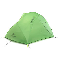 Naturehike 2 Person 20D Silicone Fabric Ultralight Waterproof Camping Tent