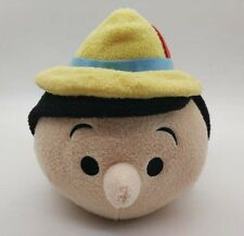 "2016 D23 EXPO Authentic Disney Store Pinocchio Jiminy Tsum Tsum 12"" Plush Doll"