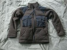 "Medium polyester fiberpile ""Brown Bear"" cold weather Jacket -Very Good Condition"