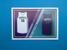 2016-17 Panini NBA Sticker Collection n.152 Jersey Charlotte Hornets