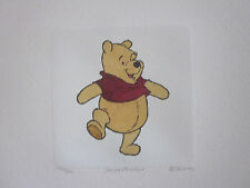 "Disney ""Winnie the Pooh"" LIMITED EDITION Etching"