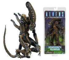 "9"" ALIEN XENOMORPH WARRIOR figure ALIENS neca SERIES 1 brown glossy CLASSIC 2013"