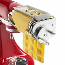 "Genuine KitchenAid KRAV Ravioli Maker Stainless Steel 6"" Stand Mixer Attachment"