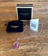 """""""ANTIQUES ROADSHOW"""" SIMULATED MULTI-GEMSTONE PENDANT WITH CHAIN SPECTACULAR!!!"""