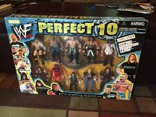 WWF Perfect 10 Jakks Pacific Box Set Of 10 Figures Wrestling The Rock