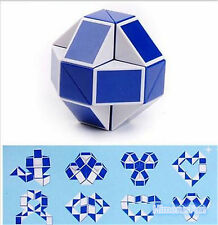 New Magic Snake Shape Toy Game 3D Cube Puzzle Twist Puzzle Toy Gift