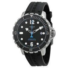 Tissot TSport Seastar 1000 AutomaticBlack Rubber Mens Watch TIST0664071705702