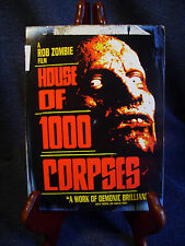Rob Zombie's House of 1000 Corpses DVD Rated R