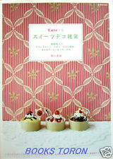 Cute Clay Sweets Deco Goods /Japanese Handmade Craft Pattern Book