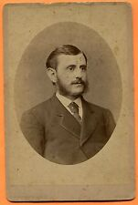 New York, NY, Portrait of a Young Man, by Fredericks & Co., circa 1880 Backstamp