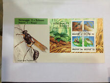 Insects 1- Wasps 1991   FDC