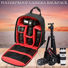 Waterproof Shockproof SLR DSLR Camera Bag Case Backpack For Canon Nikon Outdoor