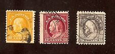 Used Franklins: #510;512;514 Mixed centering!