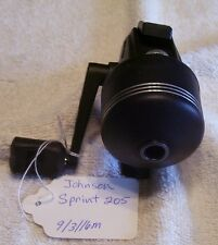 JOHNSON SPRINT 205 REEL 09/03/16M   NICE WORKING TOUGH FIND ULTRA LITE