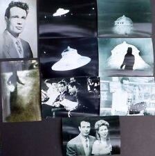 Rare UFO 93 Photo HOWARD MENGER Flying Saucer Contact Collection Set