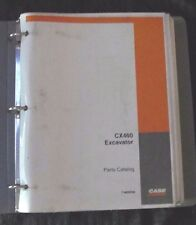 GENUINE CASE 460 CX460 CRAWLER EXCAVATOR TRACTOR PARTS MANUAL CATALOG W/BINDER