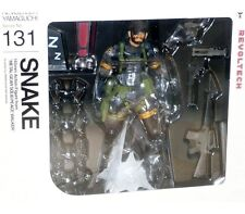 Yamaguchi Revoltech 131 Metal Gear Solid MSG Peace Walker Snake Action Figure