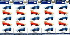 5 New packs Hallmark GO Cart CAR Stickers! 5 Sheets!
