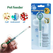 Pet Animals Medicine Feeder Pills Syringes Feeding Tool For Dog Cat Puppy New 02