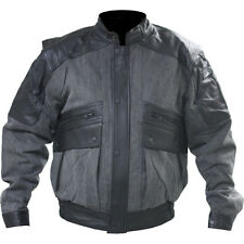 Hein Gericke Rally Textile/Leather Motorcycle Jacket Men's size Medium