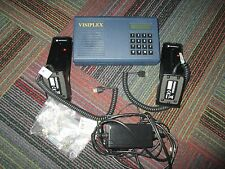 NEW VISIPLEX WIRELESS CONTROLLER VNS2500 W/ 2 MOTOROLA BASE MICROPHONES,RMN