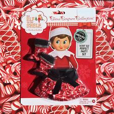 2015 PERFECT PARTY SET Boots & Skirt Elf on the Shelf Claus Couture Clothes GIRL