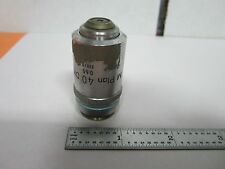 NIKON DIC M PLAN 40X OBJECTIVE MICROSCOPE OPTICS BIN#J7-17