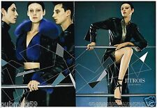 Publicité Advertising 2000 (2 pages) Haute couture Jitrois