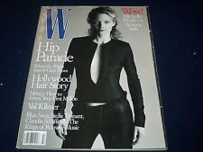 1999 FEBRUARY W MAGAZINE - MICHELLE PFEIFFER - BEAUTIFUL FRONT COVER - K 327