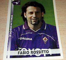 FIGURINA CALCIATORI PANINI 2000-01 FIORENTINA ROSSITTO ALBUM 2001
