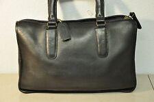 Vintage Coach Bonnie Cashin Briefcase Purse Black Leather