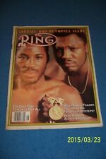 1980 Ring Magazine SMOKING Joe FRAZIER Marvin FRAZIER Only Man To KNOCK OUT ALI