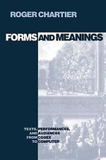 New Cultural Studies: Forms and Meanings : Texts, Performances, and Audiences...