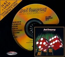BAD COMPANY - Straight Shooter - 24 KT Gold CD - Audio Fidelity - AFZ 117