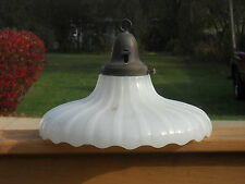 Antique Vintage Porcelain Ceiling Light Fixture Art Deco Made by Paiste