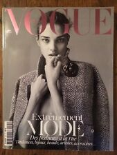 VOGUE PARIS Mars 2012 Natalia Vodianova Sarah Burton Mode Beauté Bijoux