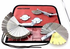 Craftsman 5pc Master Feeler Gauge Set for Ignition Spark Plugs Valve Tappets etc