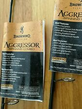 BROWNING AGGRESSOR SPIN GRAPHITE FISHING ROD 6' 4-12LB $25