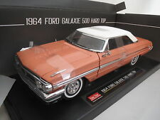 "Sun Star  1964 Ford Galaxie 500 ""Hard Top""  (weiß/Samoan Coral)  1:18  TOP & OVP"