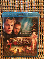 The Brothers Grimm (2-Disc Blu-ray/DVD, 2005)Dir. by Terry Gilliam(Monty Python)
