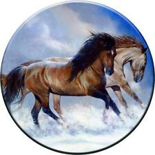 SPARE WHEEL COVER STICKER HORSES 2 CUSTOM DESIGN PERSONALISED VINYL SKIN